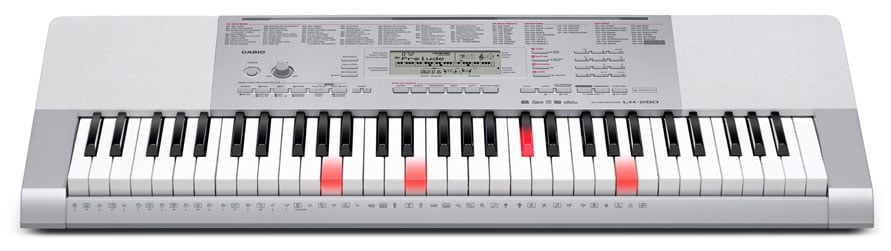 casio light up keyboard piano