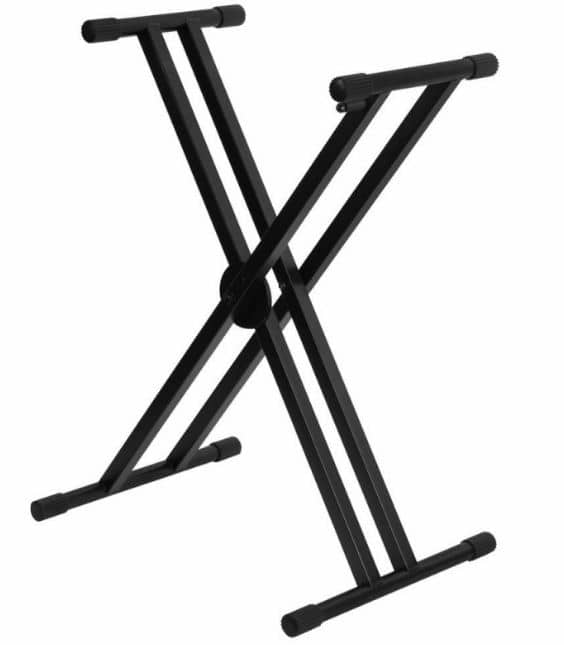 On Stage KS8291XX Pro Double X Keyboard Stand