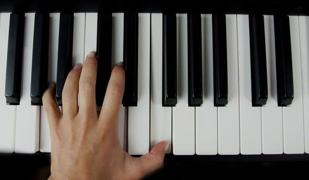improvise on piano
