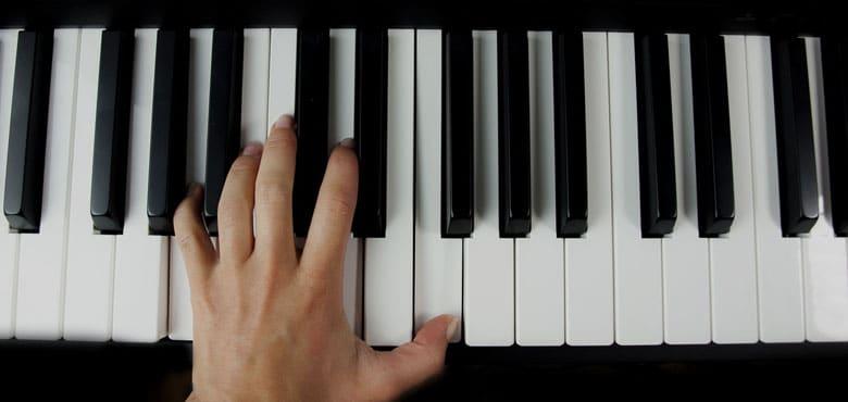 improvise on piano